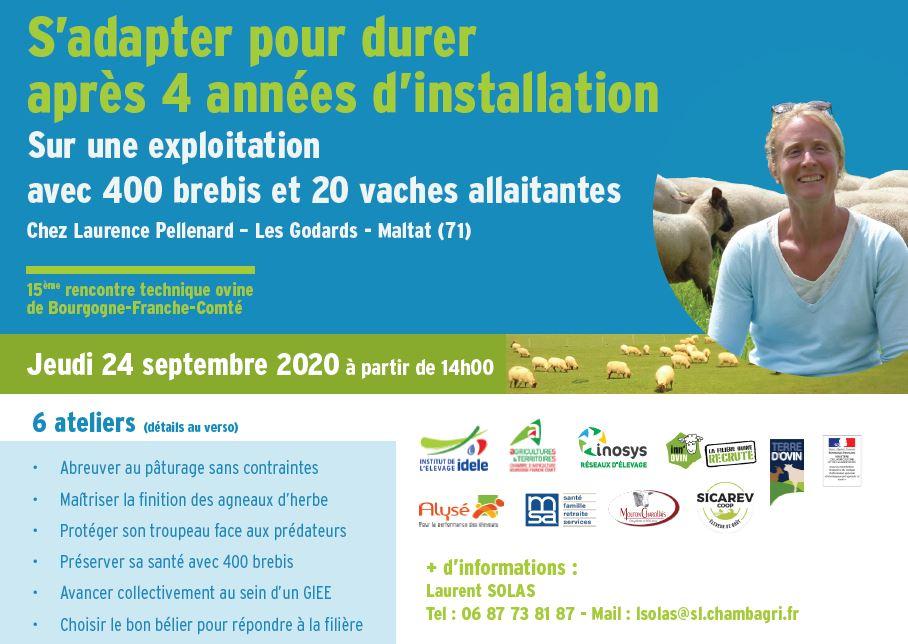 15ème rencontre technique ovine de Bourgogne-Franche-Comté